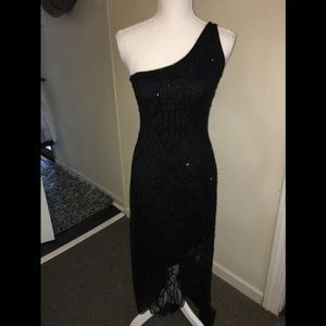 Gorgeous cache Gown Sz Small